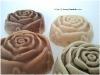 Rosas de jabon artesano