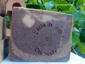 Jabon de Castilla con Leche de Cabra y Chocolate
