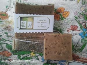 Jabón Natural de Eucalipto y Romero