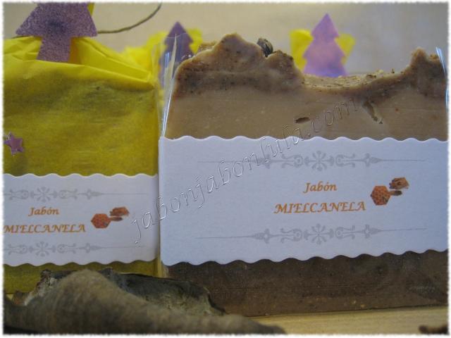 Jabón de Miel y Canela, un jabón natural a base de aceite de oliva, miel y canela para deleitarse en el baño