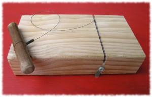 cortador de jabon casero